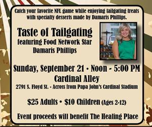 Taste of Tailgating Sept. 21