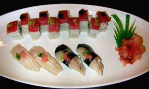Sushi at Asahi