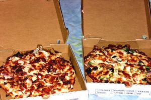 Danny Mac's pizzas