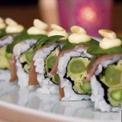 Italian picnic sushi