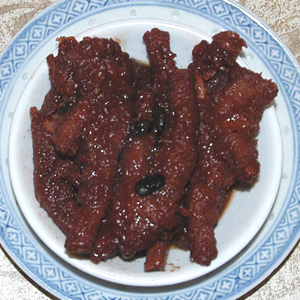 Chicken feet at Jade Palace