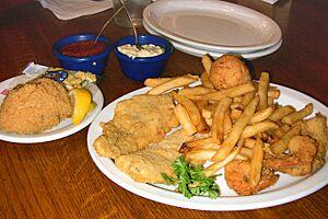 Dinner at Kingfish