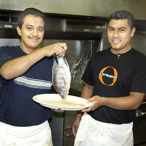 Perla's chefs