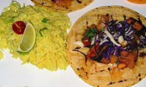 Mahi Mahi tacos at Seviche