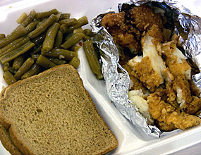 St. Augustine's fish dinner