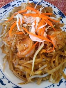 Pad Thai at True Thai