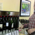 Robot sommelier at Westport wine shop