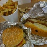 One fan called Five Guys' burg…