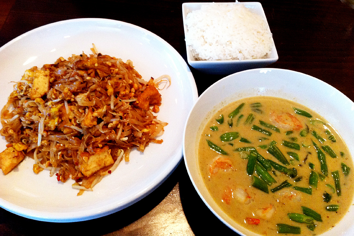 two thai dishes