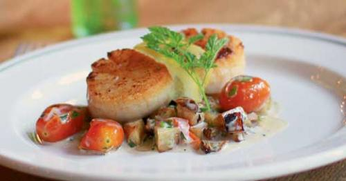 Coquilles St.-Jacques at La Coop
