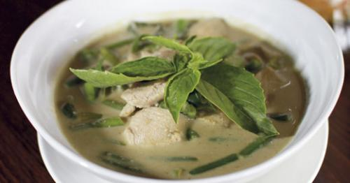 Green Curry at Simply Thai. LEO photo by Ron Jasin