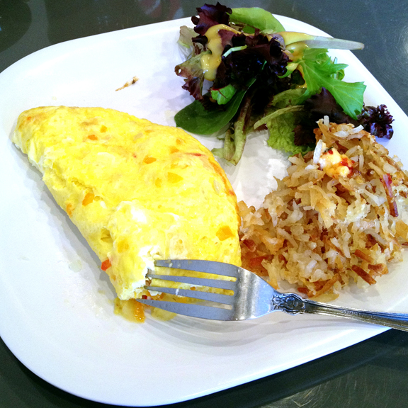 Omelet at SuperChef's