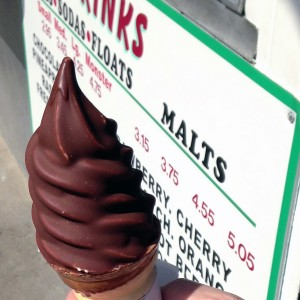 Brown Derby at Polly's Freeze