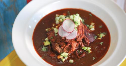 Birria de borrego (pork shoulder) at El Camino. LEO photo by Frankie Steele.