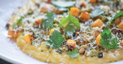 Acorn squash risotto at Proof.