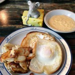 Eggs Over Frankfort Rings Diner-Style Breakfast Bell