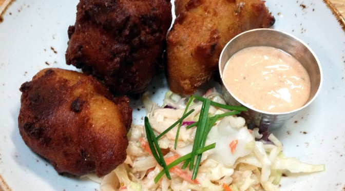 Oyster hushpuppies at Craft House.