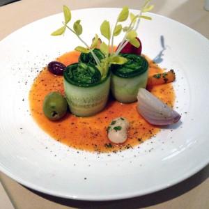 Anoosh Bistro's spinach salad