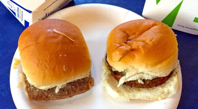 Signs of the apocalypse: The White Castle veggie slider