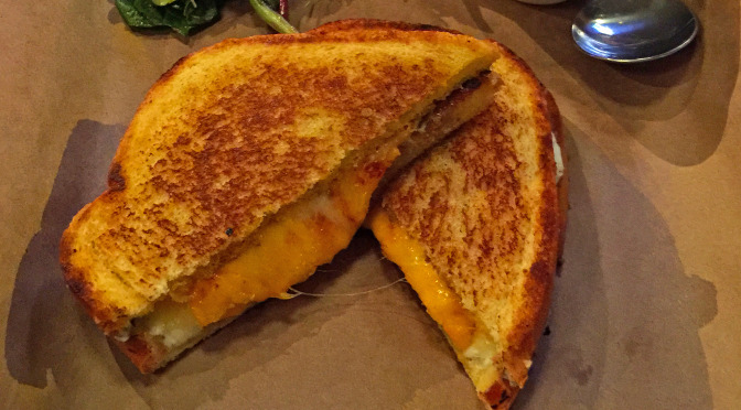 Griddled cheese at Craft House