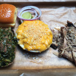 We lock eyes with the bison and the bison wins at Feast BBQ NuLu