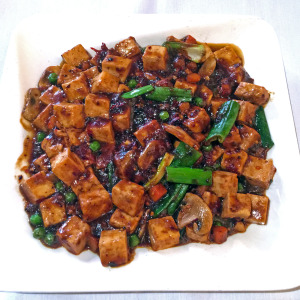 Bean Curd Szechuan style at Tea Station