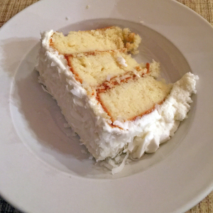 Cottage Inn's coconut cake.