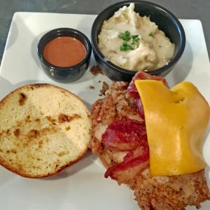 The Yardbird sandwich at Gospel Bird.