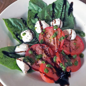 The caprese salad at Parlour.