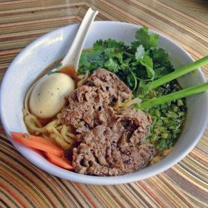 Lydia House's noodle soup
