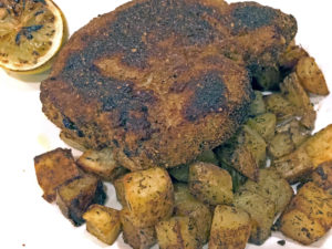 pork Milanese at Sarino
