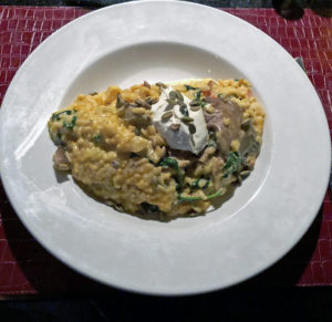 Honey-roasted butternut squash risotto at Marketplace.