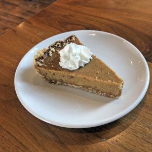 Delicious apple-butter pie at Couvillion.