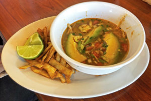 Hearty, flavorful, exceptional tortilla soup at Cancun.