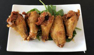 Eatz Vietnamese's fish sauce fried chicken wings.