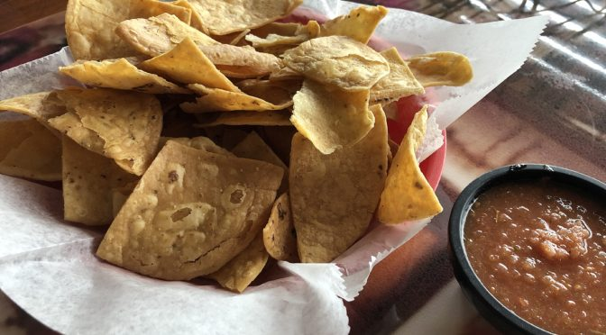 The chips at El Mariachi are fresh, house-made, and possibly the best you ever ate.