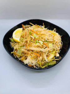 Lola's Kitchen's pancit bihon, an iconic Filipino rice-noodle dish. (Photo from Lola's Facebook page.)