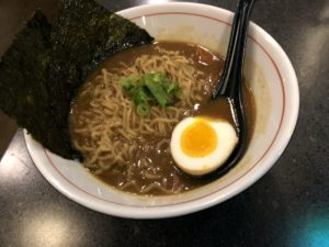 Ramen House's Japanese curry ramen is a hearty option for a winter evening.