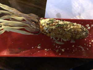 Agave & Rye's take on the elote could pass muster at a good taqueria.