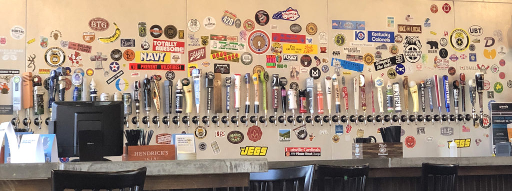 Union 15's well-stocked bar boasts about 50 draft beer taps.