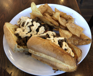 The Southside Cheesesteak at Union 15.