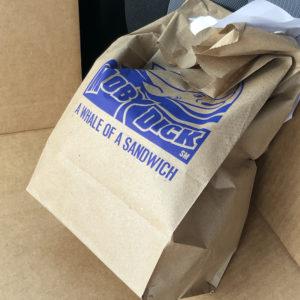 Success! Bag-O-Fish, in the car.