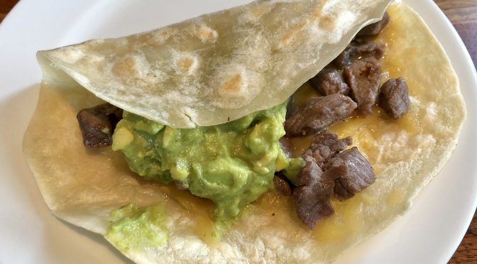 Named after MexA owner Lorena Casas, the signature Lorena's taco is a Monterrey-style treat, sirloin cubes and guacamole on an oversize flour tortilla.