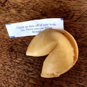 Can a Chinese meal in the U.S. be complete without a crisp fortune cookie?