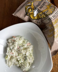Sal's creamy slaw is exceptionally tasty, and the chips that come with the fish are a first-rate commercial product.