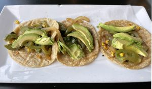 Another of Limón y Sal's Taco Week specials was the Ximena taco