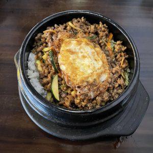 Bimbim Bom beef rice pot