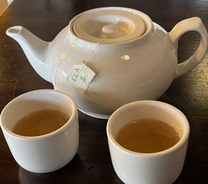 Fresh, floral jasmine tea