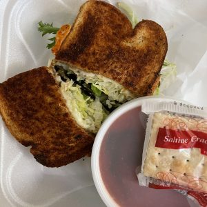 Healthy Options might seem like an odd category to memorialize Janis Joplin, but the veggie sandwich crafted in her name is good enough to grab a Piece of My Heart.