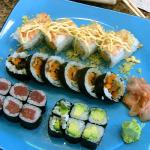 Sushi is good in the neighborhood